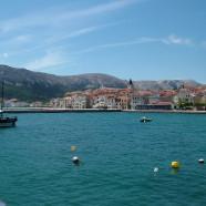 Baška na juhovýchode Krku s krásnou plážou