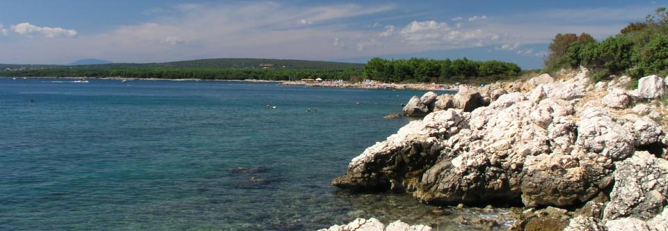 Prímorský Punat na ostrove Krk