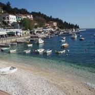 Rabač na pobreží Istrie