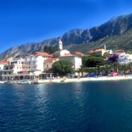 Gradač – jedna z najkrajších pláží na Jadrane