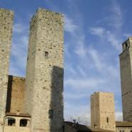 Toskánske San Gimignano je známe vínom a pamiatkami