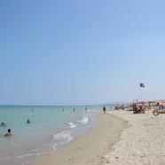 Talianska Alba Adriatica je známa krásnou plážou