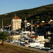 Nenápadná chorvátska obec Marina pri Trogire