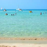Sicílske San Vito lo Capo s krásnou plážou