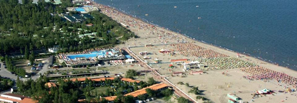 Kúpanie a ubytovanie v talianskom letovisku Rosolina Mare