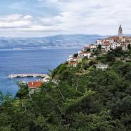 Chorvátsky Vrbnik na ostrove Krk