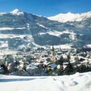 Sprievodca lyžovačkou, kúpeľmi a hotelmi v Bad Hofgastein