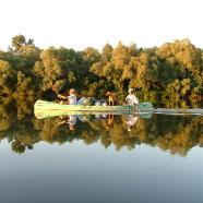Maďarský Tiszafüred pri jazere Tisza