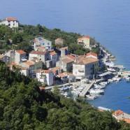 Lákadlá chorvátskeho Valunu na ostrove Cres