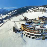 Špičková lyžovačka v tirolskom Kronplatzi